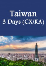 Cathay Pacific / Cathay Dragon - Taiwan New Hotel 3 Days