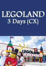 Cathay Pacific - LEGOLAND Theme Park + Water Park  / Sea Life Malaysia 3 Days