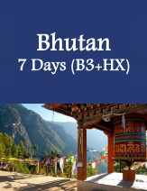 Bhutan 7 Days Package