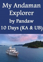 My Andaman Explorer by Pandaw - 10 Days 7 Nights Yacht Experience