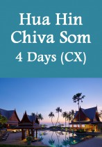 Cathay Pacific - Hua Hin Chiva Som Resort 4 Days Package