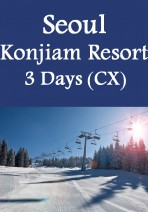 Cathay Pacific - Gangwon-do Konjiam Resort 3 Days Package