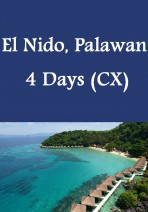 Cathay Pacific - El Nido, Palawan 4 Days Package