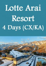 Cathay Pacific / Cathay Dragon - Niigata Lotte Arai Resort & Hotel 4 Days