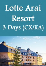 Cathay Pacific / Cathay Dragon - Niigata Lotte Arai Resort & Hotel 3 Days