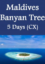 Cathay Pacific - Maldives Banyan Tree 5 Days 3 Nights
