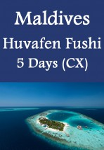Cathay Pacific - Maldives Huvafen Fushi 5 Days 3 Nights
