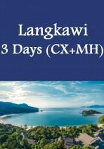 Cathay Pacific + Malaysian Airline - Langkawi 3 Days Package