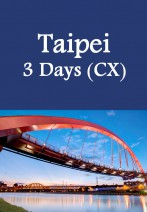 Cathay Pacific - Taipei 3 Days