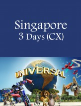 Cathay Pacific - Resort World Sentosa Singapore 3 Days