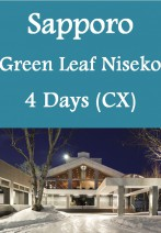 Cathay Pacific - The Green Leaf Niseko Village 4 Days Ski